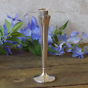 Vintage Watson Sterling Silver Bud Vase - Weighted Base - 6.25 Tall