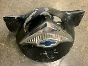 1955 1956 Chevy Horn Cap With Emblem And Mounting Clips
