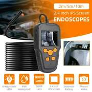 2/5/10m 1080p 8mm 8 Leds Endoscope Borescope Inspection Camera For Ios Android