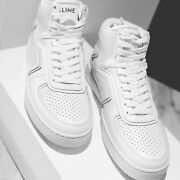 Celine Z Trainer Ct-01 High Sneaker In Calfskin - Sold Out