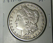 1891-o Morgan Silver Dollar Xf New Orleans Mint Extremely Fine Coin 5621-2