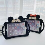 Case For Apple Ipad Mini Kids Cute 3d Cartoon Silicone Stand Shockproof Cover