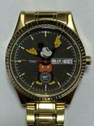 Timex X Beams Mickey Mouse Collaboration Menand039s Watch With Box Excellent