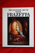 Stock 3 Books The Fantastic Art Of Frank Frazetta + Book Two Paperback Perfects