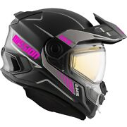 Ckx Ams Mission Tracker Matte Pink Snowmobile Helmet Full Face 510811 510816
