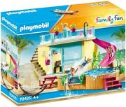 Playmobil Family Fun Beach Hotel Bungalow With Pool 70435 Playset