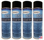 Qty 4 Polymat 656 Silicone Spray Lubricant For Door Windows Hinges Non Greasy