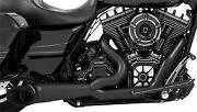 Freedom Performance Hd00511 2-into-1 Turnout Exhaust System - Pitch Black