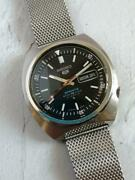 Seiko 5 Sports B2789 Menand039s 1969 Year Made Glass Replaced Used From Japan