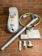 Aerus Electrolux Guardian Vacuum Model C154b Hepa Filter Great Condition Tested