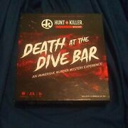 Hunt A Killer - Death At The Dive Bar Immersive Murder Mystery Game Free Ship