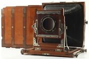 [exc+5] Trade Mark Registered 5x7 Wood Large Format Camera From Japan 368