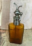 Very Rare German Medical Glass Vial With Dosimeter In A Single Copy 1930-50 S