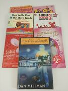 Mixed Lot Of 7 Young Adults Chapter Books Goosebumps, High School Musical,and More