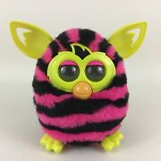 Furby Boom Interactive Toy Pet Hasbro 2012 Pink Striped With Batteries Tested A2