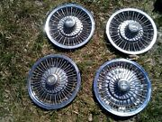 Oem 1964-1968 Chevrolet Impala And Caprice Classic 14 Wire Hubcap