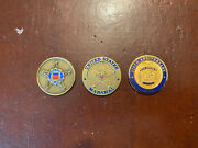 Challenge Coin Lot Of 3