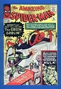 Amazing Spider-man 14 High Grade Key Issue Vf-nm First Appearance Green Goblin