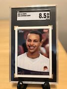 Stephen Curry Rookie Card 2009-10 Topps 321 Rare Graded Sgc Nm-mint+ 8.5 Invest
