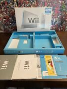 Nintendo Wii Sports Box W/ Inserts Trays And Manuals Wii Not Included - Box Only