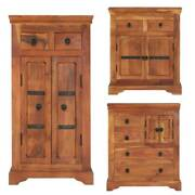 Rustic Buffet Sideboard Kitchen Dining Wood Cabinet Console Table Home Organizer