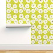 Wallpaper Roll Greenery Botanical Illustrated Green Spring Floral 24in X 27ft