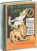 L. Frank Baum- The Cowardly Lion Of Oz 1923 1st Edition/ 1st Printing