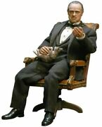 Hot Toys The Godfather Don Vito Corleone 1/6 Action Figure H12in Mm091 Mms91