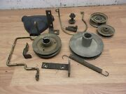 Simplicity Express Engine Pulleys , Steering Wheel Cap , Pulleys And Misc Parts
