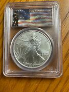 2007 American Silver Eagle Pcgs Ms70 Hard To Find Freedom Label