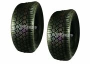 Stens 160-533 Set Of 2 Cst 4 Ply Tubeless Mowku Tires 23 X 10.50-12 Lawn Mower