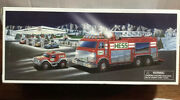 Brand New 2005 Hess Truck Emergency Fire Truck With Rescue Vehicle