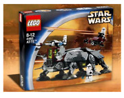 New Lego Star Wars At-te Set 4482 - Box Opened Original Content Factory Sealed