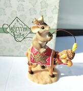 Fitz Floyd Charming Tails Mouse He Will Light The Way Camel  Nativity Christmas