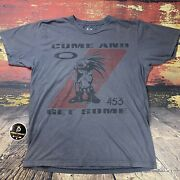 Si Come Get Some 453 Special Forces Navy Seals Military T- Shirt Sz L/m