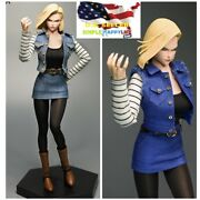 1/6 Android 18 Costume Clothes M013 For 12and039and039 Female Figure Phicen Hot Toys ❶usa❶