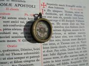 Christian Reliquary 1600s 1st Class Relic Hair Blessed Virgin Mary