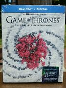 Game Of Thrones Seventh Season 7 Blu-ray Sigil Slipcover Best Buy Exclusive New