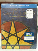 Game Of Thrones Sixth Season 6 Seven Pointed Star Blu-ray Best Buy Exclusive New