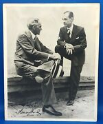 Henry Ford Autographed - Signed - Circa 1930s Type 1 Photo - Jsa Inconclusive