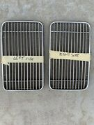 Two 2 Porsche 356c Coupe Engine Grills