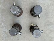 One Set Of Porsche 356 Nos Mahle Pistons And Cylinders 825 Mm- Four 4