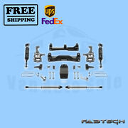 4 Performance Sys W/front Coiloversand Rear Shocks Fabtech For Ford F150 4wd 2014
