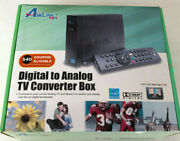 Airlink 101 Digital To Analog Tv Converter Box Atvc101 Cables Remote New In Box