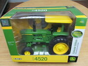 Ertl 1/16 John Deere 4520 Collector Edition Tractor With Dvd