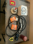 Ferrari 308-328-gts Qv Timing Belt And Tensioner Kit With Water Pump Oem Parts.
