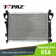 Radiator For 2000-2006 Mercedes-benz S500 Cl500 S430 S55 S600 4.3l 5.0l 5.5l
