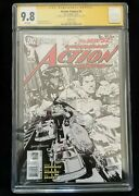 Action Comics 1 Signed Rags Morales Sketch Variant Cgc 9.8 3757871001