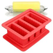 20xheavy Duty Silicone Butter Mold Tray With Lid 4 Cavities Easy Release