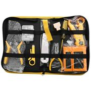 10xnetwork Repair Plier Tool Kit With Utp Cable Tester Sp Clamp Crimping Tool